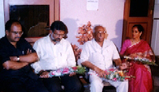 Tated J. making his point. Sitting from L to R - Adv. Vinay Rathi, Adv. Satish Maheshwari, Tated J., Adv. Sanjivani Maheshwari.